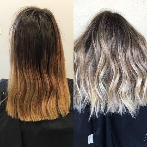 sombre hår axellångt