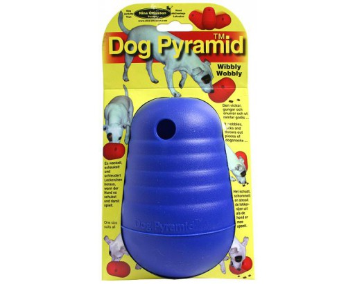 Dog Pyramid blå